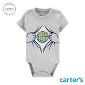 【美國 carter s】超人寶寶印圖包屁衣-台灣總代理