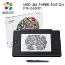 【意念數位館】Wacom Intuos Pro medium Paper Edition 雙功能專業繪圖板 PTH-660/K1-CX