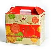 【台酒TTL】酒粕養生薄餅禮盒-綜合新口味(奶素)