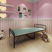 折疊床單人床木板床簡易加固成人午睡床簡約午休床單人折疊床90cm  無糖工作室