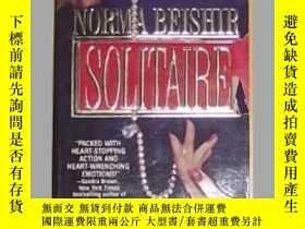 二手書博民逛書店《罕見Solitaire 》Norma Beishir 著 英文