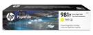 L0R15A HP 981Y 高印量黃色墨水匣 適用 PageWide 556/586