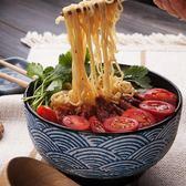 手繪釉下彩創意日式 陶瓷拉面碗大碗 家用7寸大湯碗沙拉碗泡面碗【新品上市】