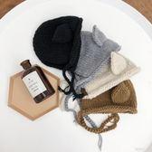 男女童韓版保暖護耳帽兒童寶寶百搭毛線帽潮童粗線帽子  歐韓時代