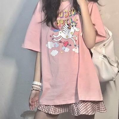 (下殺)彈性棉市場價短袖印花【08SG06661】
