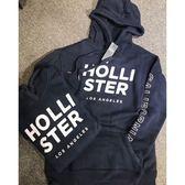 【蟹老闆】Hollister女帽T手臂刺繡款