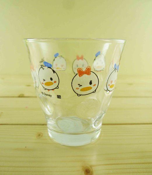 【震撼精品百貨】Donald_唐老鴨~透明玻璃杯-Q版