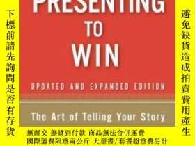 二手書博民逛書店Presenting罕見To Win: The Art Of T