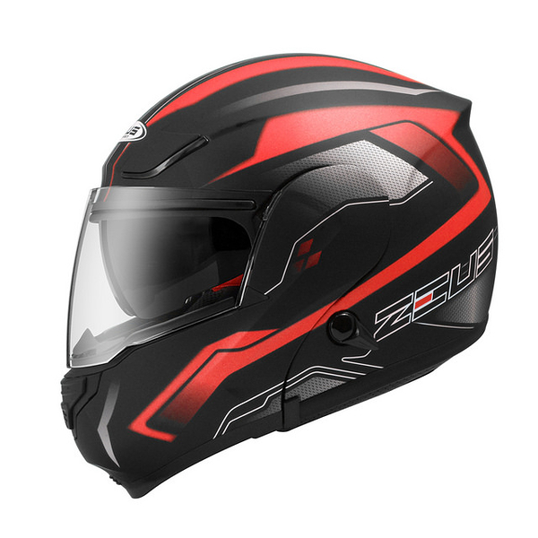 ZEUS瑞獅安全帽,ZS3300,GG19/消光黑紅