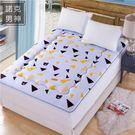 床墊 加厚學生宿舍0.9m雙人床墊榻榻米折疊單人海綿床褥子墊被 新春喜迎好年