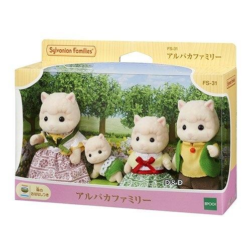 【 EPOCH 】森林家族 - 羊駝家庭組 ╭★ JOYBUS玩具百貨