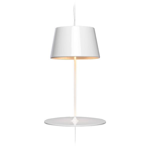 挪威 Northern Lighting Illusion Pendant / Table Lamp 幻象 懸掛式桌燈(亮面白色)