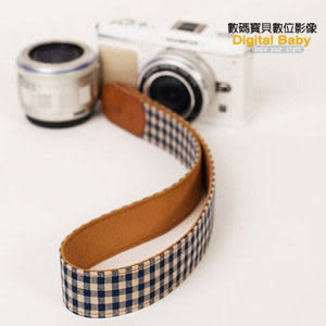 i.code Public 30 DSLR 韓國相機背帶 (格子藍) p3302 ICODE 頸帶 手腕帶
