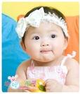 韓版滿天星髮帶/嬰兒頭飾亮閃閃蝴蝶水鑽髮帶.寶寶照必備(粉紅/白色)