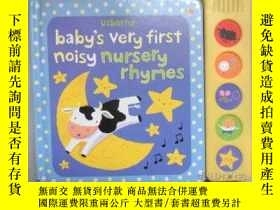 二手書博民逛書店usborne罕見baby s very first noisy