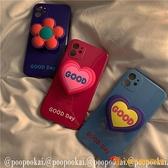 韓版支架適用蘋果iphone12手機殼promax軟p30華為40P/mate夜市量販【小獅子】