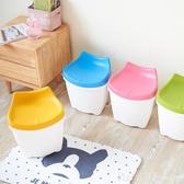 時尚換鞋凳塑料玩具收納椅子創意凳子儲物兒童日式大號加厚可坐    俏girl YTL