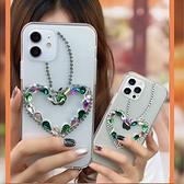 OPPO Reno6 pro Reno5 Find X3 A75 A73 5G A53 A72 愛心吊飾 手機殼 水鑽殼 訂製