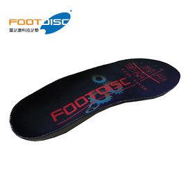 【速捷戶外】德國 FOOT DISC 富足康 調整型科技鞋墊 #HVD101 低足弓+ 內八型腿-紅色穩定款