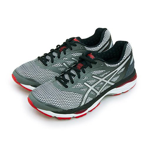 LIKA夢 Asics亞瑟士 專業慢跑鞋 GEL-CUMULUS 18 灰黑銀 T6C3N-9793 男