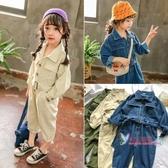 兒童連身裝 女童連身衣2019秋裝新款兒童韓版洋氣工裝連身褲3-7歲寶寶衣服潮5 3色