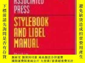 二手書博民逛書店Associated罕見Press Stylebook And Libel Manual-美聯社樣式書和誹謗手冊奇
