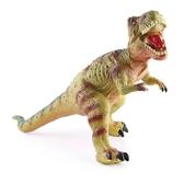 恐龍玩具仿真動物套裝大號霸王龍模型環保軟膠塑膠兒童男孩三角龍 蜜拉貝爾