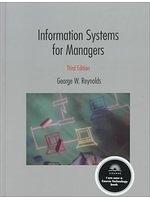二手書博民逛書店 《Information systems for managers》 R2Y ISBN:031404597X│GeorgeWalterReynolds