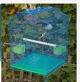 大號鳥籠子大號虎皮鸚鵡籠文鳥金屬籠八哥鳥籠相思鳥籠繁殖籠