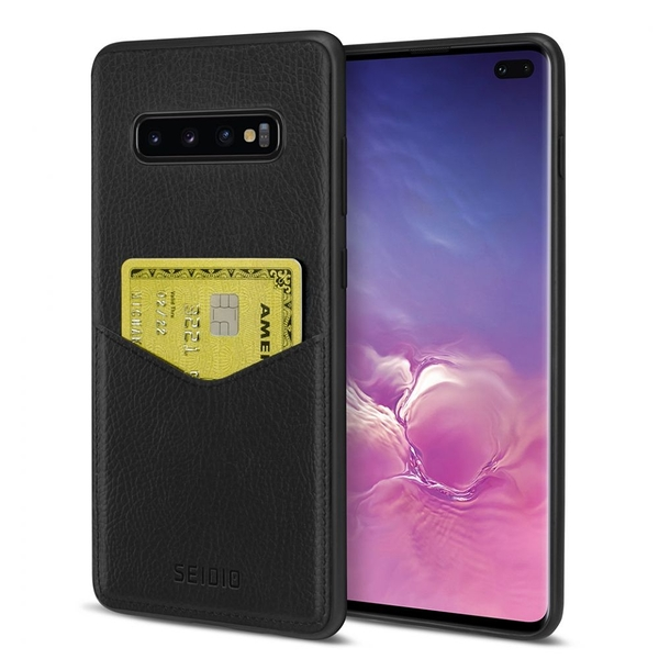 SEIDIO 極簡皮革手機保護殼-EXECUTIVE for Samsung Galaxy S10 Plus