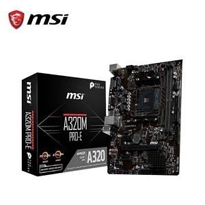 【綠蔭-免運】微星MSI A320M-A PRO AMD主機板
