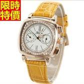 鑽錶-奢華與眾不同流行女腕錶6色5j18[巴黎精品]