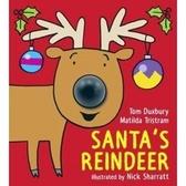 【麥克書店】SANTA'S REINDEER /聖誕麋鹿 (按壓鼻子有聲音)