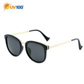 UV100 防曬 抗UV Polarized太陽眼鏡-時尚大鏡面