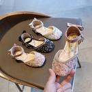 2020春夏新款時尚包頭女童涼鞋公主鞋碎晶寶寶鞋演出鞋兒童沙灘鞋