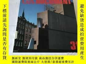 二手書博民逛書店GA罕見Document 31(英、日、雙語)Y8204 世界建築 世界建築