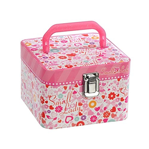 日本 小夫人虛榮化妝組 兒童彩妝品 化妝盒 腮紅 指甲油 唇膏 安全無毒 清水卸妝【小福部屋】