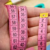 實用可愛量衣尺皮尺軟尺卷尺子量體