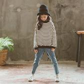 中大尺碼女童秋裝套裝韓版潮衣兒童女孩洋氣兩件套sd2537【衣好月圓】