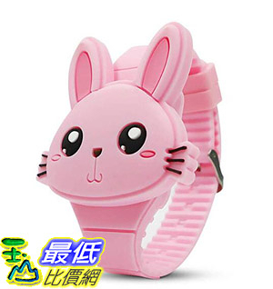 [8美國直購] 手錶 Kids Digital Watch,Cute Rabbit Shape,Girl Gifts B07H2ZPK3H