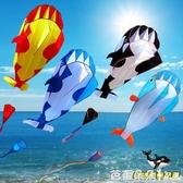 風箏 濰坊海豚鯨魚虎鯨海洋動物風箏兒童風箏『快速出貨』