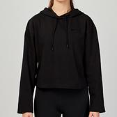 Nike AS W NSW HOODIE JRSY 女子 黑色 連帽 休閒 舒適 長袖 CJ3741-010