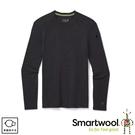 【SmartWool 美國 男 NTS 250長袖衫《炭黑色》】SW016350/保暖長袖/內層衣