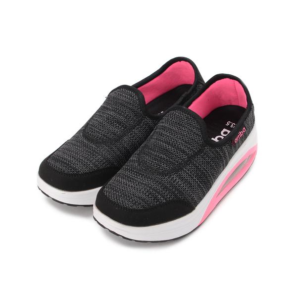 ARRIBA 套式氣墊搖搖鞋 黑 FA-527 女鞋 鞋全家福