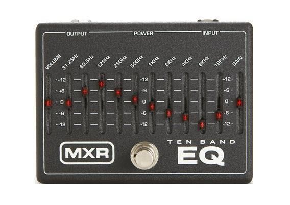 【金聲樂器廣場】全新 MXR M-108 Ten Band Graphic EQ 高級EQ