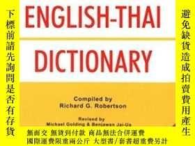 二手書博民逛書店Robertson s罕見Practical English-thai DictionaryY255562 R