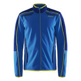 【速捷戶外】瑞典Craft 1904463 Soft shell 男防風保暖外套-(藍色), 登山,滑雪 跑步 路跑 夜跑