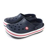 Crocs 休閒鞋 涼鞋 防水 深藍色 男女鞋 11016-410 no001