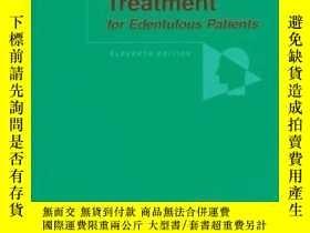 二手書博民逛書店Boucher s罕見Prosthodontic Treatment for Edentulous Patient
