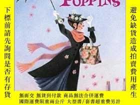 二手書博民逛書店英文原版罕見Mary Poppins系列P.L.Travers歡樂滿人間:隨風而來的瑪麗阿姨 兒童章節書